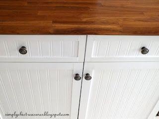 kitchen bead board paintable wallpaper 1 8 trim white paint rh pinterest com au  paintable kitchen cupboard doors