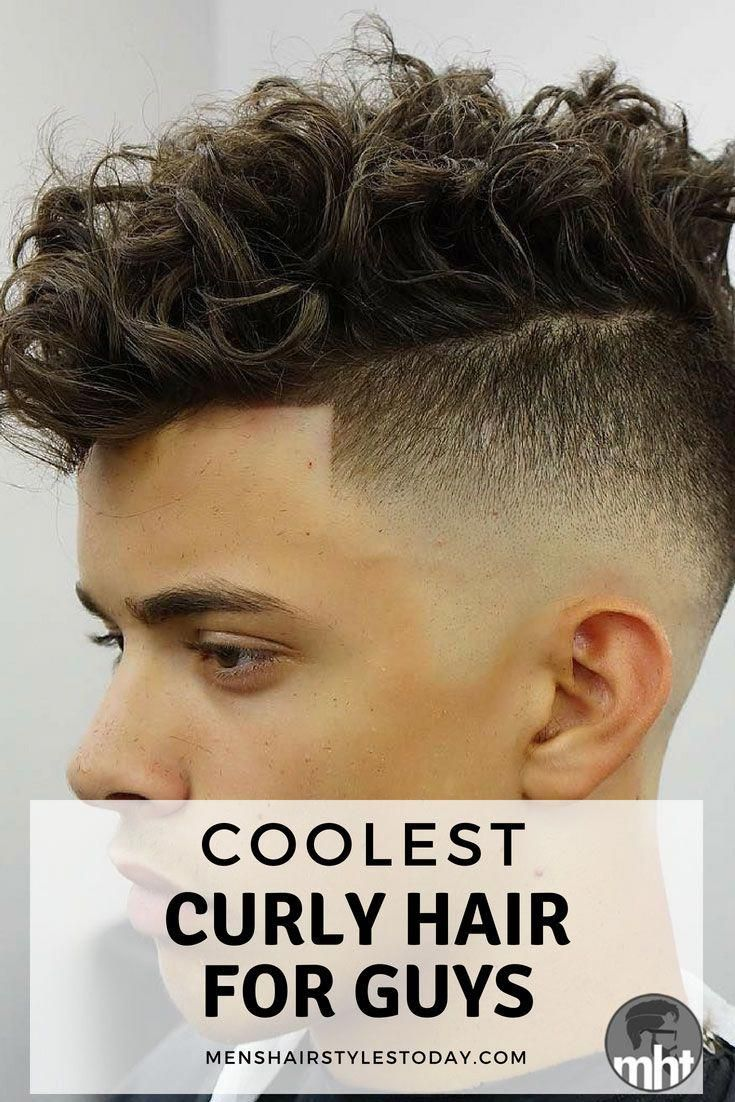 39 Best Curly Hairstyles Haircuts For Men 2020 Styles Curly Hair Styles Curly Hair Fade Fade Haircut Curly Hair