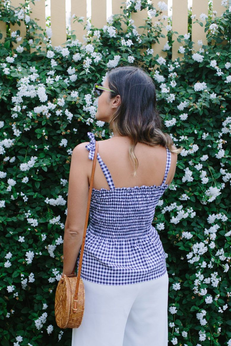A Pair & A Spare | DIY Shirring With Elastic Thread (& An Easy Shoulder Tie Top)