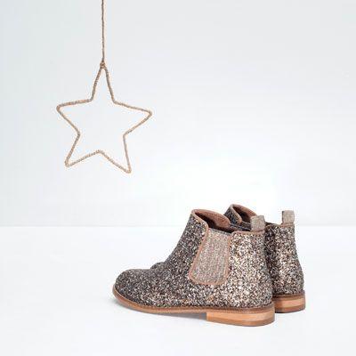 images officielles prix de la rue sortie en vente Image 9 de BOTTINES PAILLETTES de Zara | Tenue enfants ...