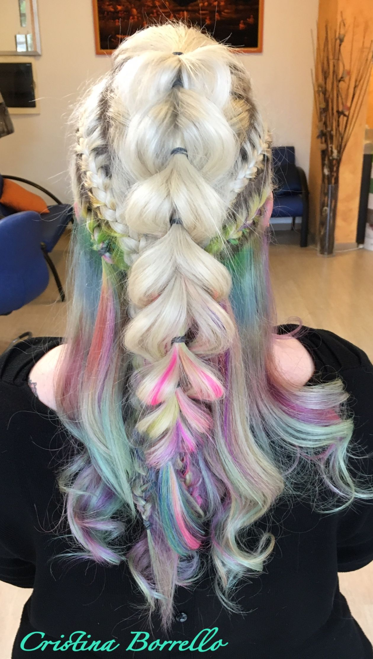 Pin Di Cristina Su Only My Hair Style Pinterest Hair Styles