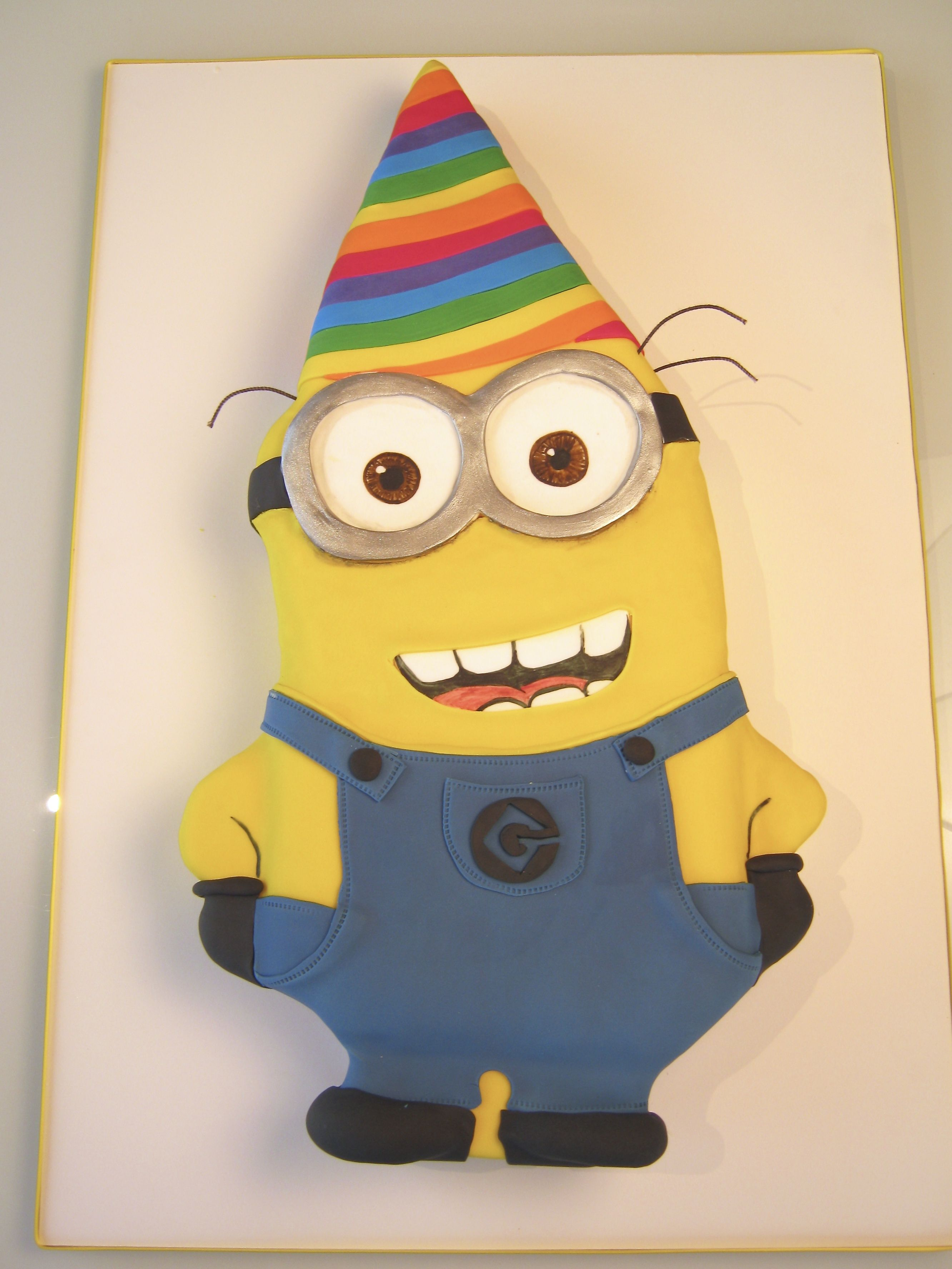 Minion Party Party Hat Minion Cake Despicable Me Cake Birthday Cakes