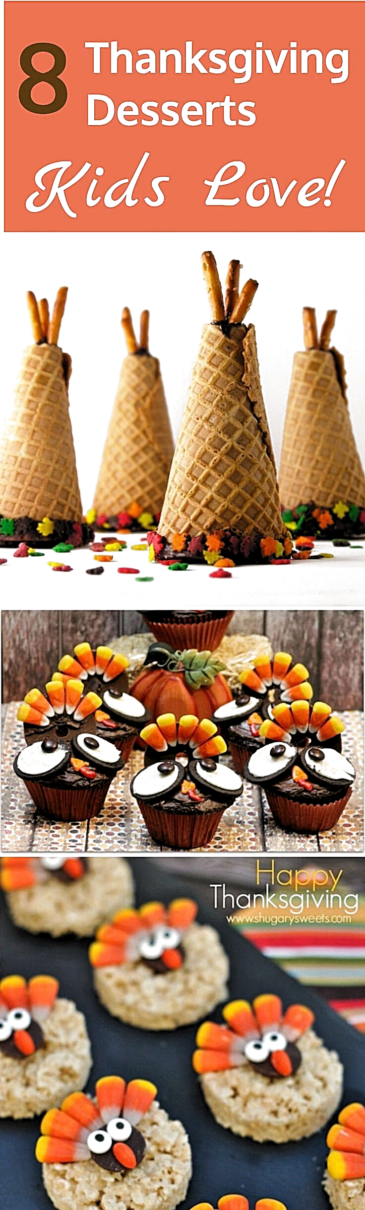 Looking for fun Thanksgiving ideas for your kids? Have a blast making these great Thanksgiving desserts! Thanksgiving Desserts Kids Love! - Easy Thanksgiving Desserts Kids Love - Discover fun and unique Thanksgiving desserts that you can make with your kids.  #thanksgiving #thanksgivingcrafts #thanksgivingdesserts #foodgallery #recipeinspiration #foodgood #foodtalk #foodielife #foodismedicine #recipecomingsoon #foodreview #foodlovers #foodanddrink #foodfood #foodphoto #recipeblog #foodtography #