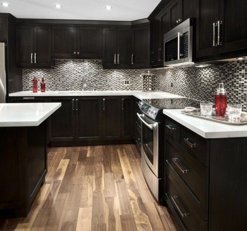 Pictures Of Modern Kitchen: Espresso Kitchen, Espresso Kitchen Cabinets, Black