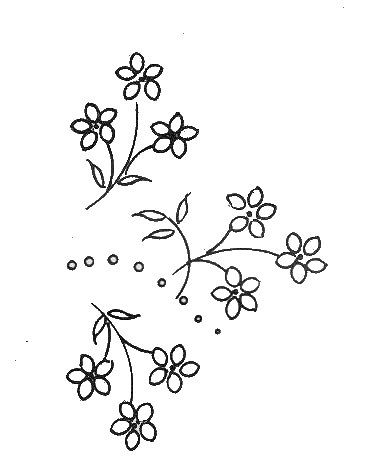 Repeat simple flower pattern fancy embroidery pinterest repeat simple flower pattern thecheapjerseys Choice Image