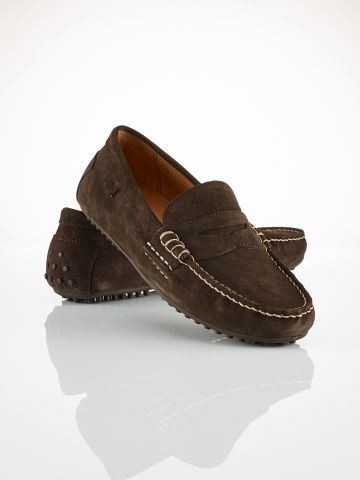 275dfa767c7 Suede Wes Loafer - Polo Ralph Lauren Shoes - Ralph Lauren UK