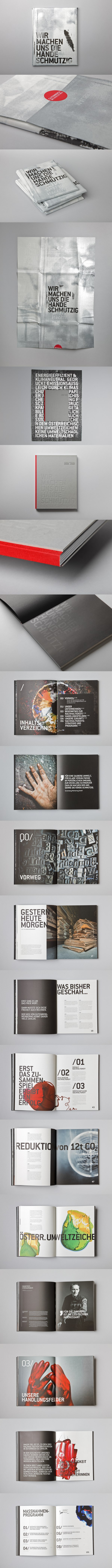 SUSTAINABILITY REPORT    via  http://www.behance.net/gallery/SUSTAINABILITY-REPORT/3332485