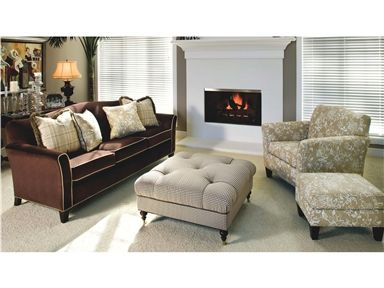 Shop for Smith Brothers Three Cushion Sofa 378 and other Living