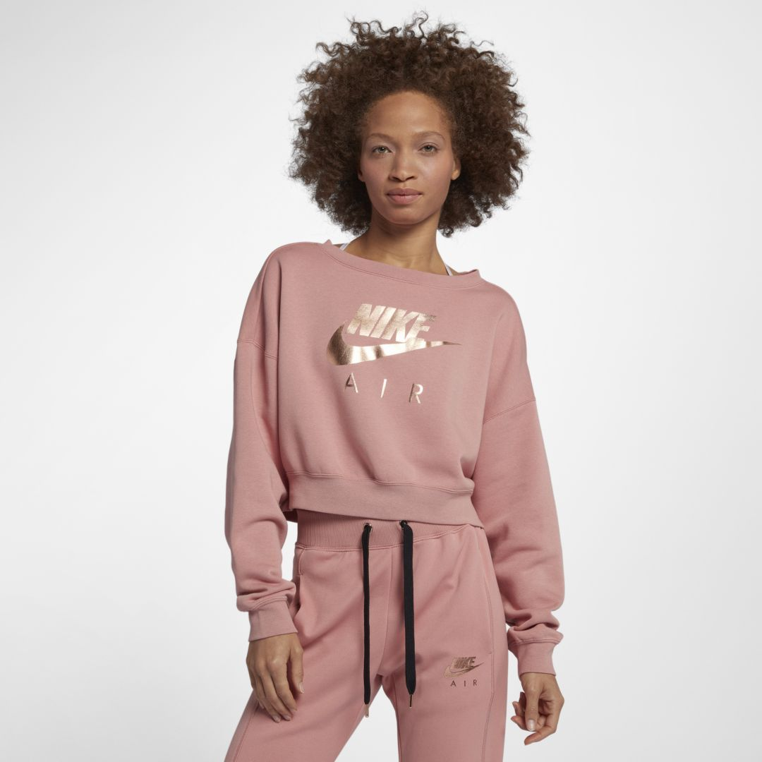 2a6983017aab Nike Air Rally Women s Crew Size L (Rust Pink)