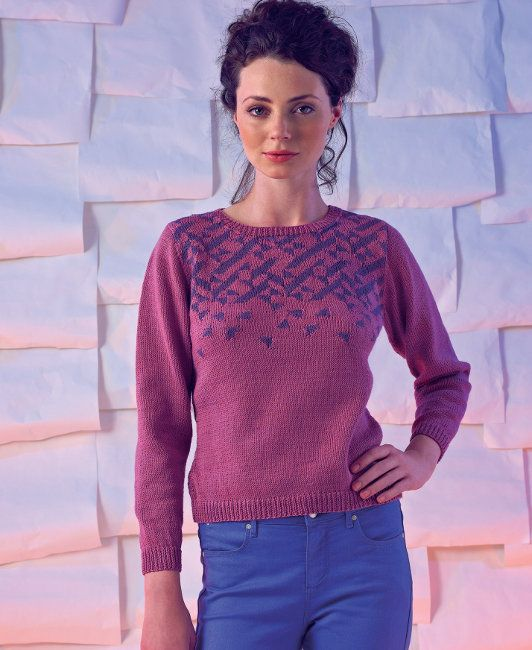 Free Knitting Pattern Sassoon By Marie Wallin In Rowan Siena 4 Ply