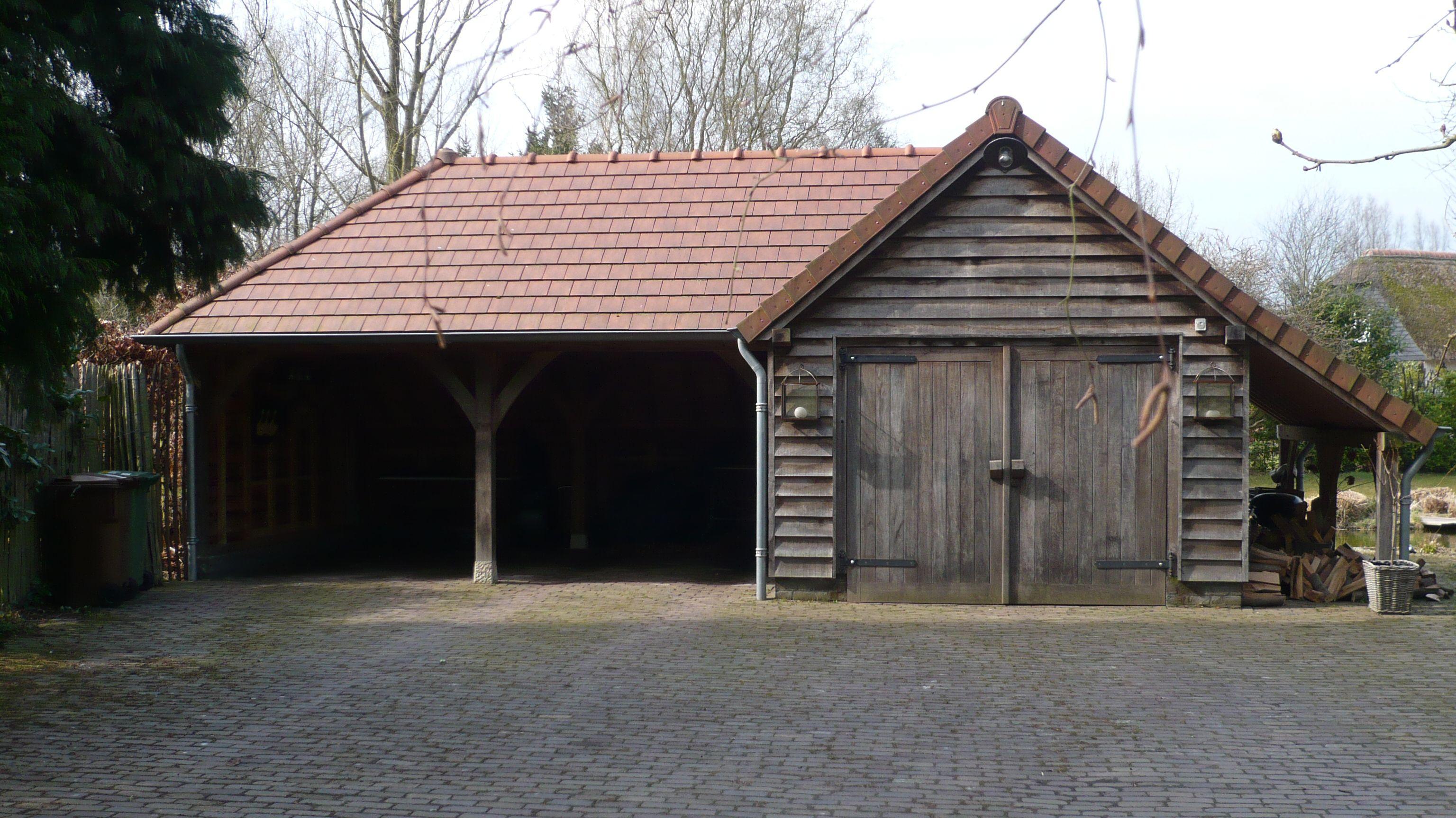 eiken duurzaam eikenhout eikenhouten bijgebouw bijgebouwen atelier ...