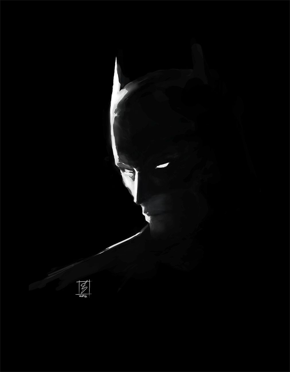 Black Batman Wallpaper : black, batman, wallpaper, Batman, Wallpapers, Download, 1920×1080, Black, Wallpapers), Adorable, Wallpaper,, Painting,
