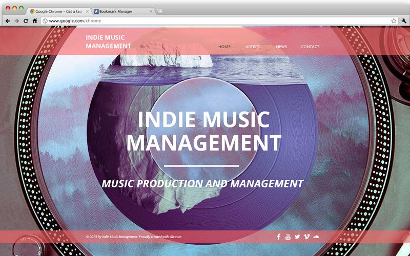 Indie music productions wix website templates pinterest indie music productions indie musicmusic productionwebsite templatetemplates pronofoot35fo Choice Image