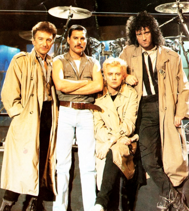 Queen Highlander Soundtrack: Queen On The Set Of 'Princes Of The Universe', 1986