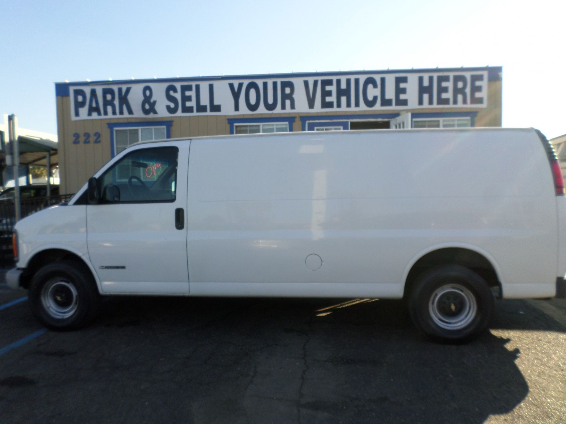 2002 Chevrolet Express 3500 Cargo Van Cargo Vans For Sale Cargo