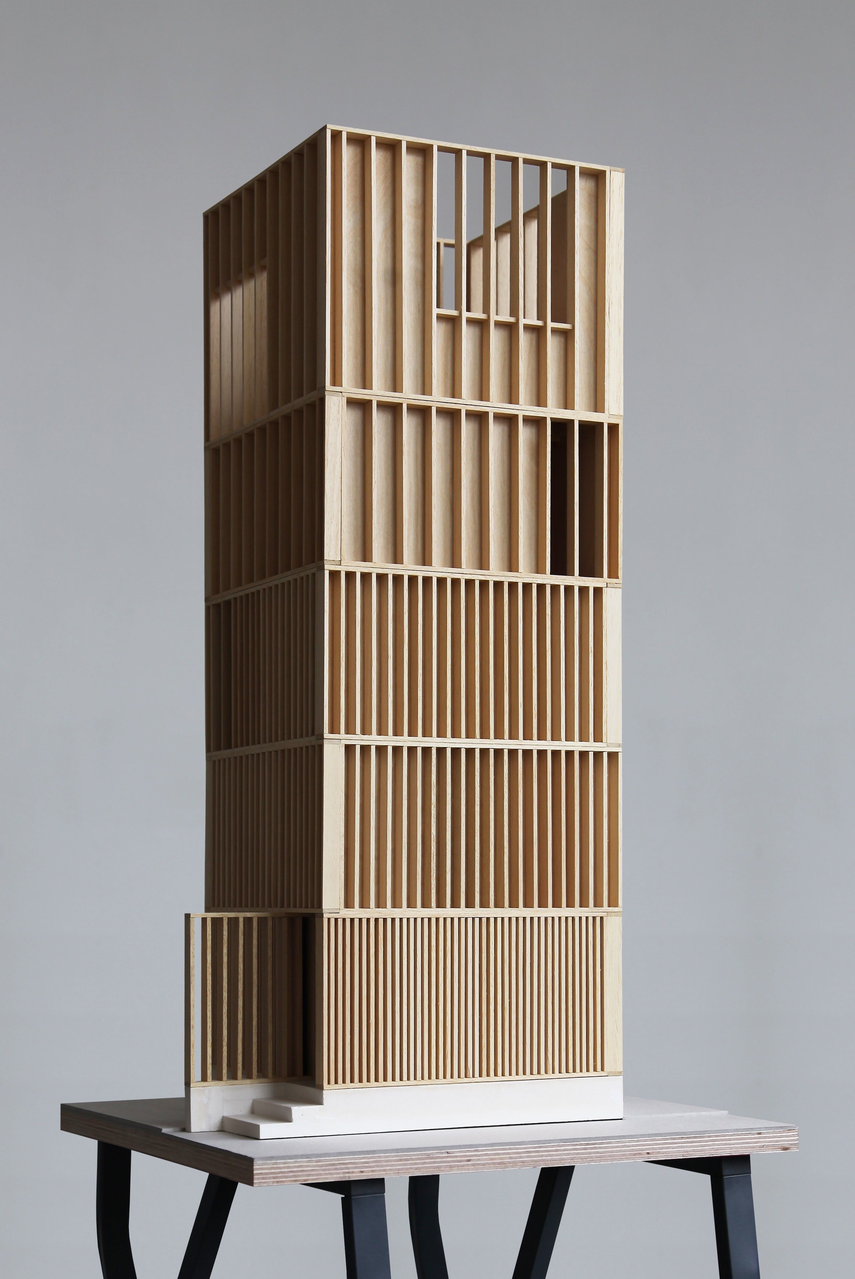 RA Summer Exhibition 2016 work 363: UNBUILT PROPOSAL FOR A VIEWING TOWER AT…