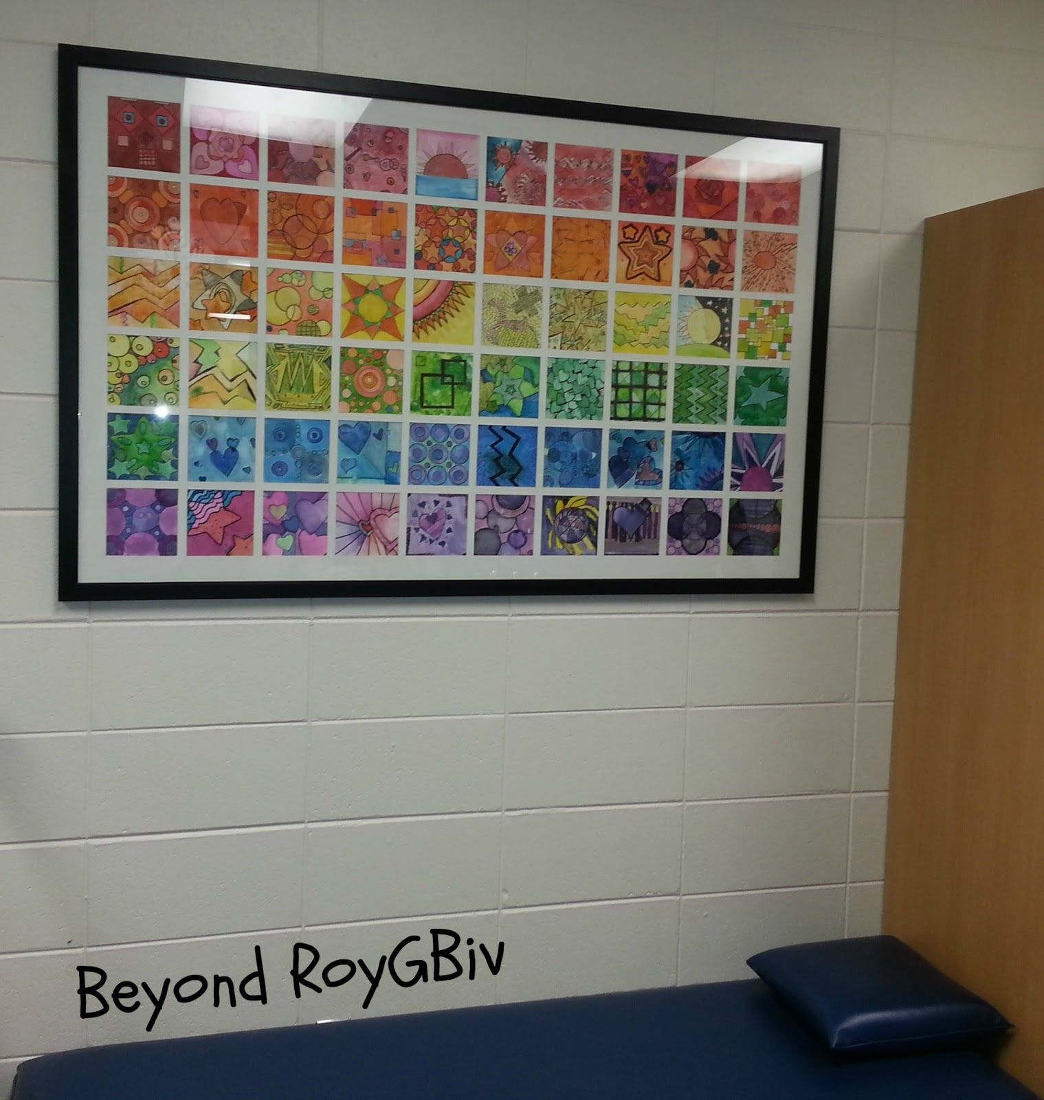 Roy . Biv Legacy Projects Art Class