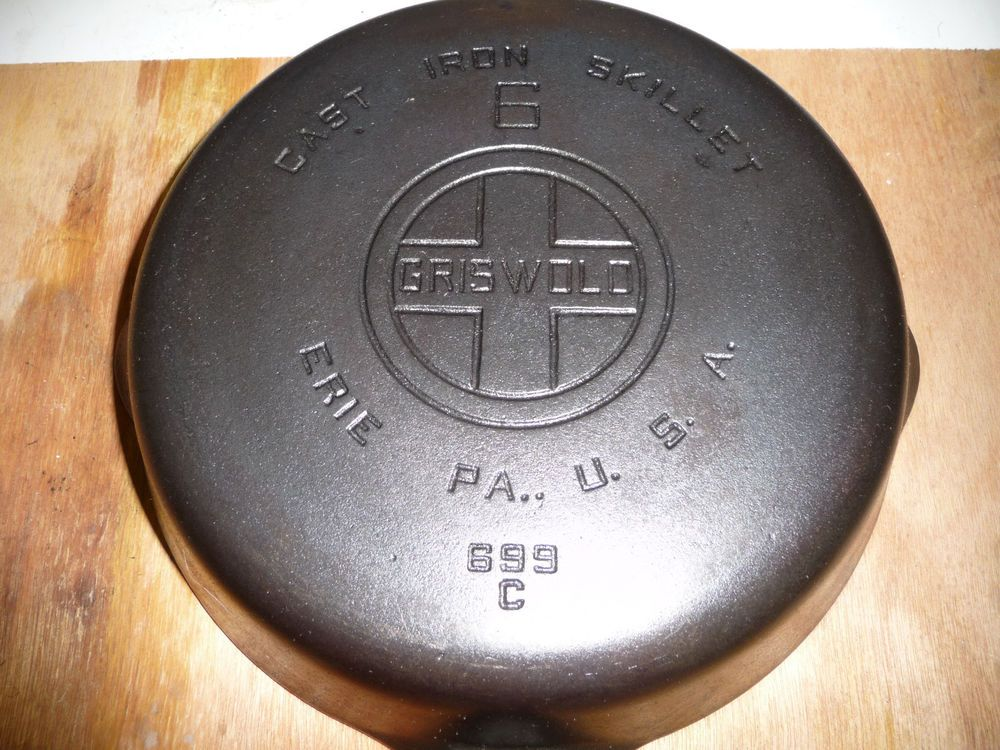 Dating griswold cast iron skillets