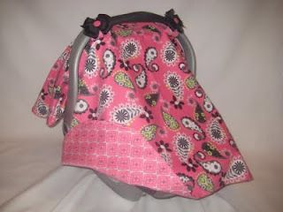 Love these carseat covers!