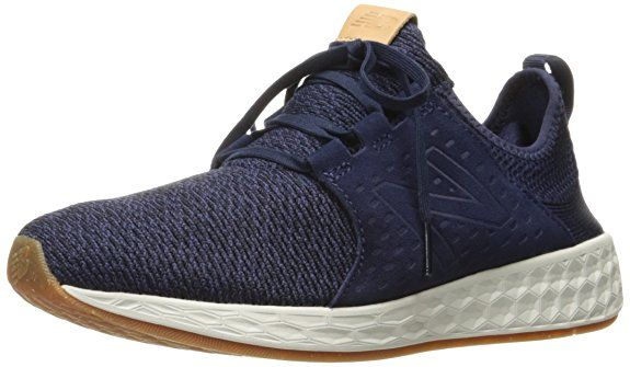 sports shoes c11d0 7e4ee New Balance Men s Fresh Foam Cruz Running Shoe, Pigment Sea Salt, 11.5 D