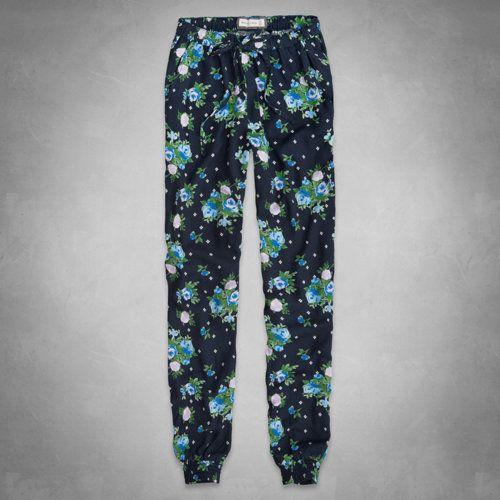 Olivia Floral Drapey Pants