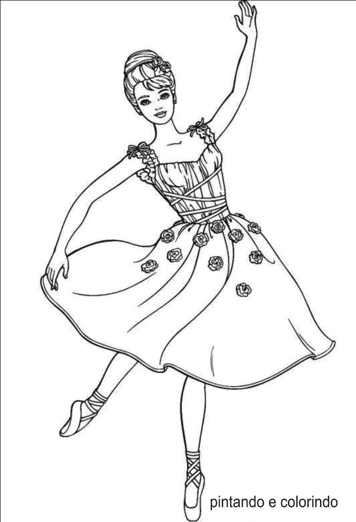 risco para pintura em tecidos, bailarina   diversos   Pinterest ...