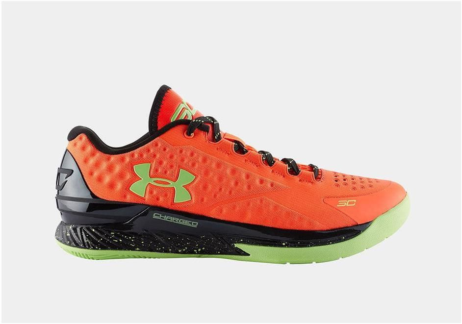Under Armour Ua Curry 1 One Low Volt Orange