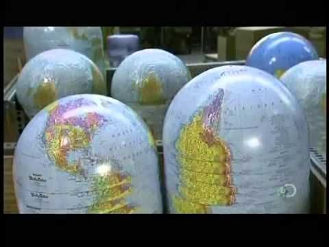 A video of how globes are made now.