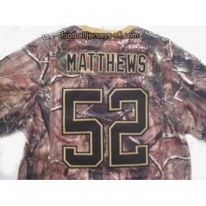 Discount Clay Matthews camo football jersey Green Bay Packers #52 camo  for sale