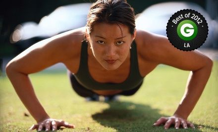 "Groupon - $ 50 for Five-Week Boot Camp at Boot Camp ""Morning Crunch!"" (Up to $ 305 Value). Groupon deal price: $49.00"