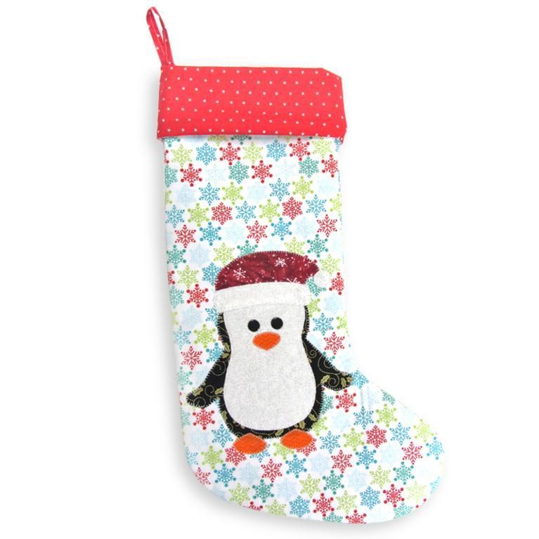 9 name sewing penguin christmas stocking pattern