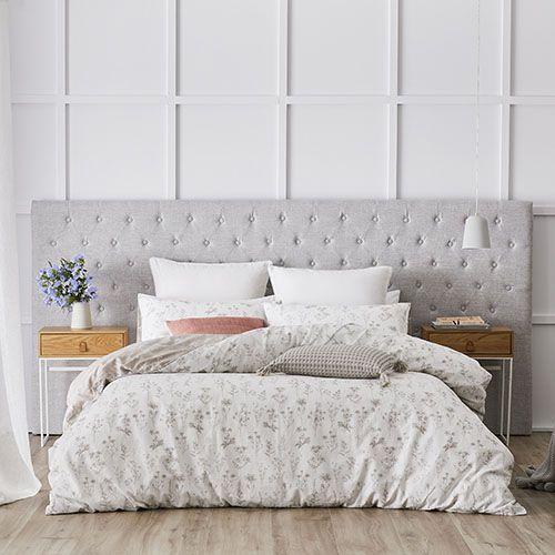 Bedroom Furniture Houston Pop Art Bedroom Designs Romantic Bedroom Background Bedroom With Area Rug: Medina Wide Bedhead Ash