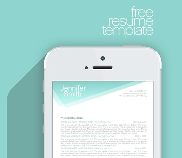 FREE Resume Templates - by ResumeWay - #resume, #resumetemplate - apple resume templates