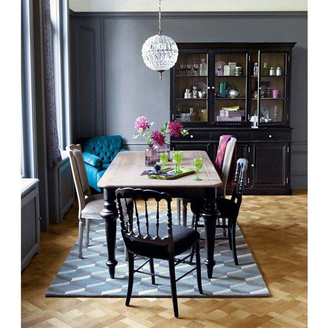 table salle manger 8 couverts lipstick la redoute. Black Bedroom Furniture Sets. Home Design Ideas