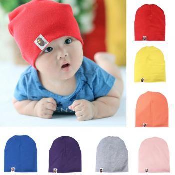 8a9dcbf01e7 7 Colors Baby Infant Toddler Cotton Skull Beanie Cap Hat