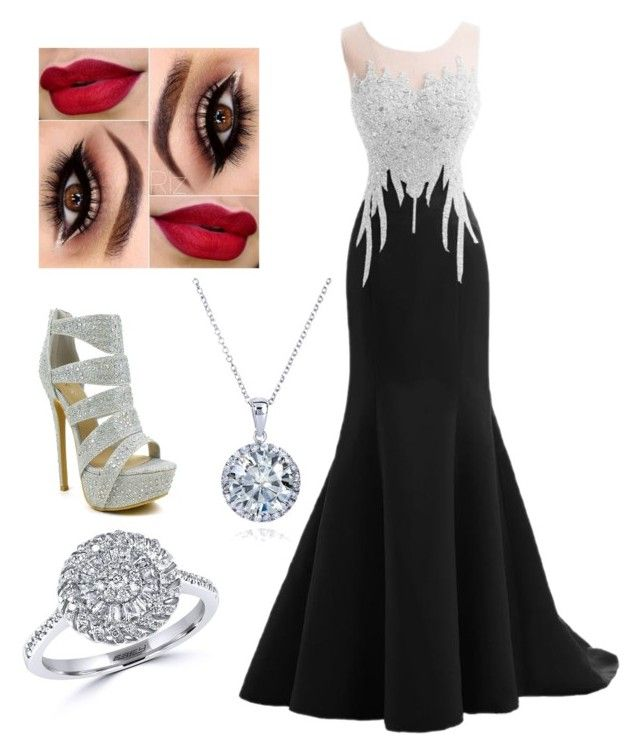 """""""Red carpet pt 9"""" by brie-karitsa-parrish on Polyvore featuring Kobelli and Effy Jewelry"""