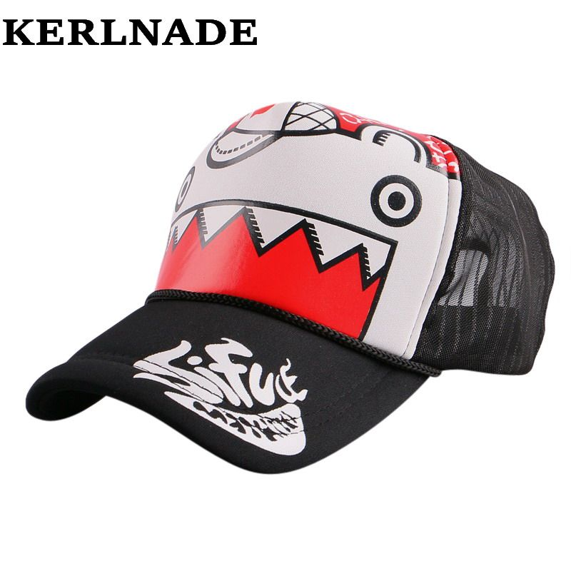 1e94a8485f3 ... baseball cap Suppliers  big discount hero letter hip hop summer  baseball cap for women men boy girl mesh breathable fashion trucker sun hat  snapback