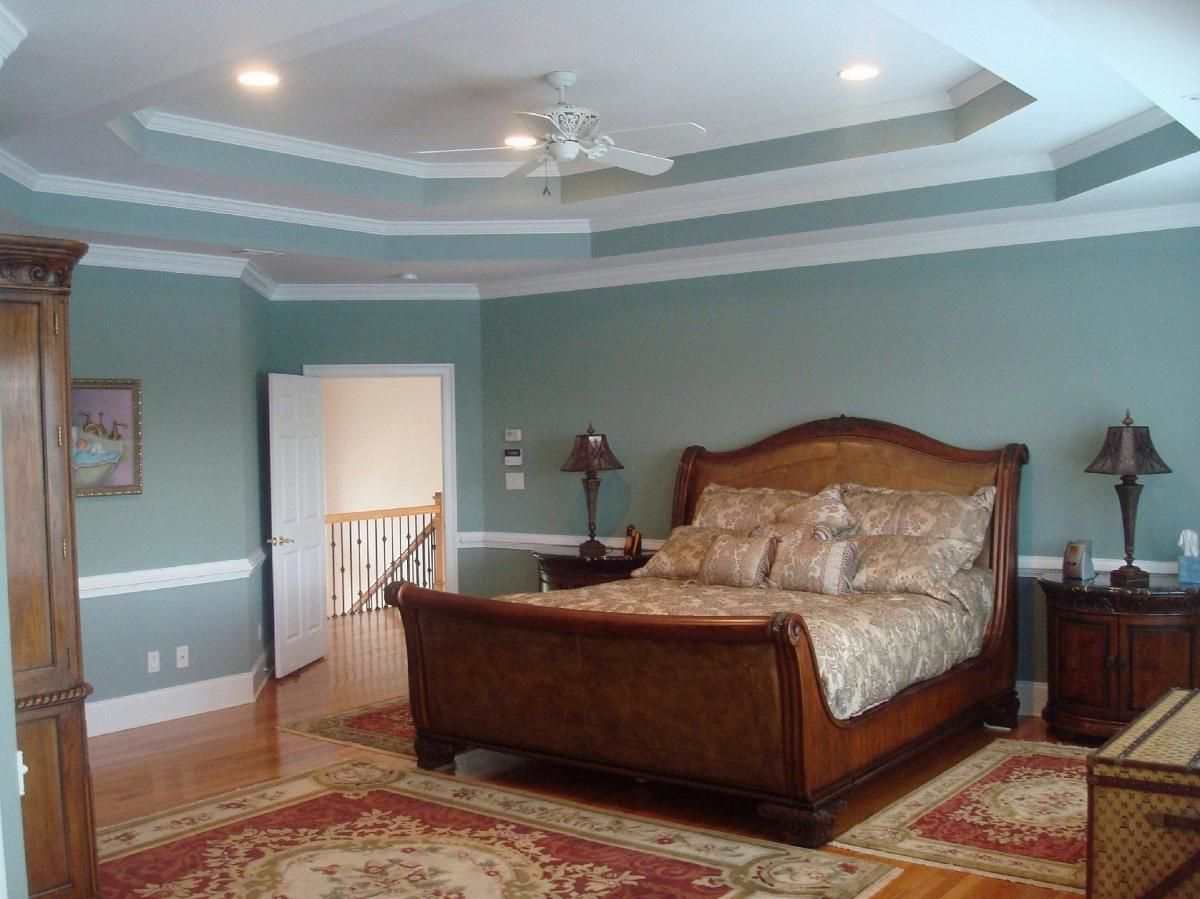 Master Bedroom Tray Ceiling bedroom double tray ceiling design | bedroom trey ceiling colors