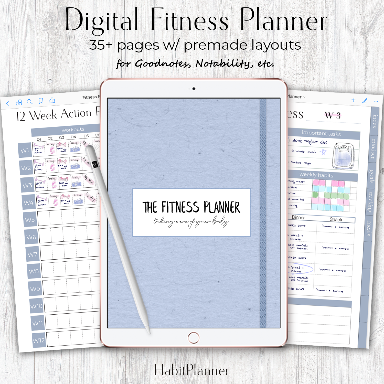 The Fitness Planner — Million Dollar Habit