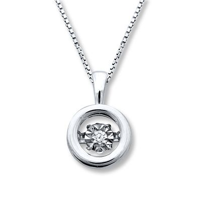 37e47db69 Diamonds in Rhythm 1/5 ct tw Necklace Sterling Silver | Jewelry I ...