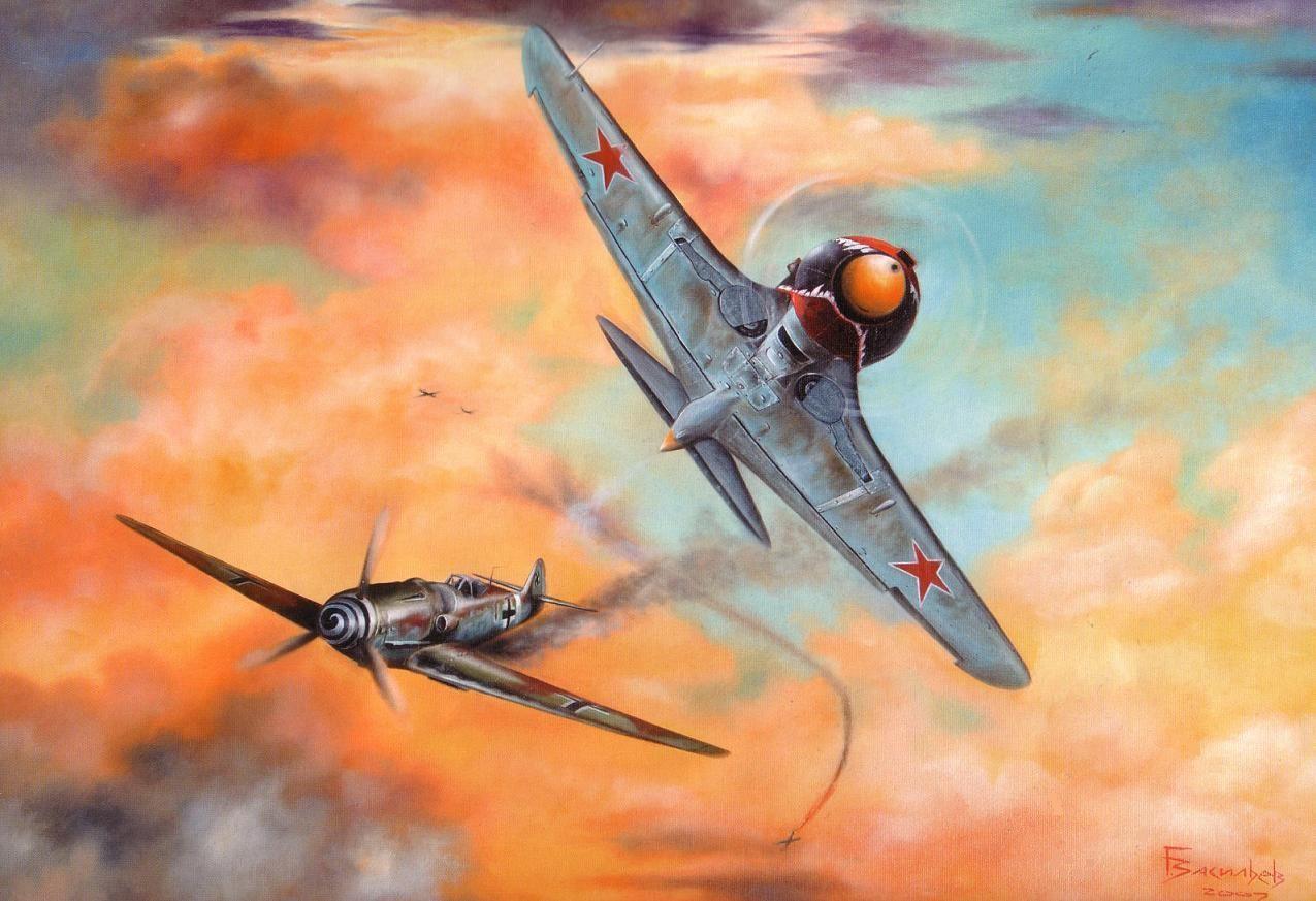 Г.Д. Костылёв , Ла - 5 | Искусство авиации, Военный ...