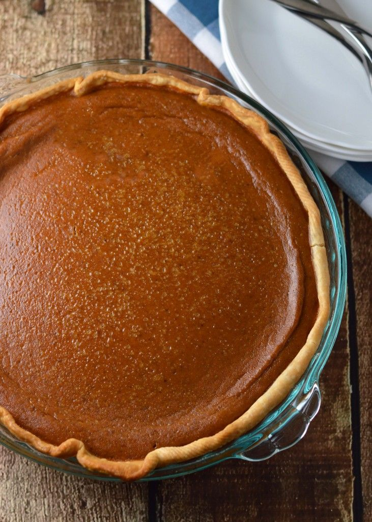 Perfect pumpkin pie:  In the sea of pumpkin pie recipes, it's the only one you'll need.  We've been eating this one year after year!