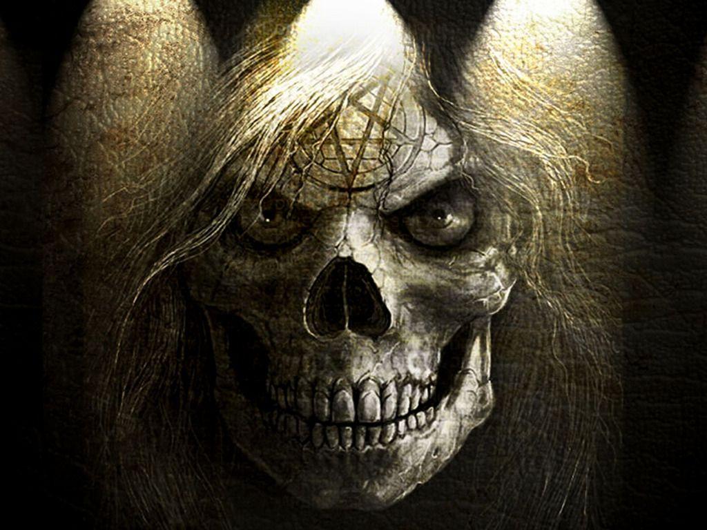 Random Stuff Funny Stuff Random Stuff Polyvore Skull Wallpaper Horror Skull Scary Wallpaper