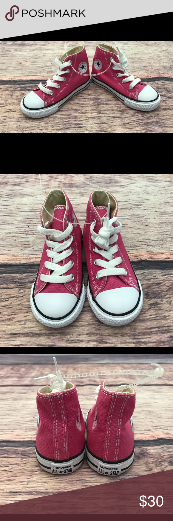 3cff83e412530d Converse all Star Chuck Taylor Toddler Girl Size 7 •New without box •Converse  All