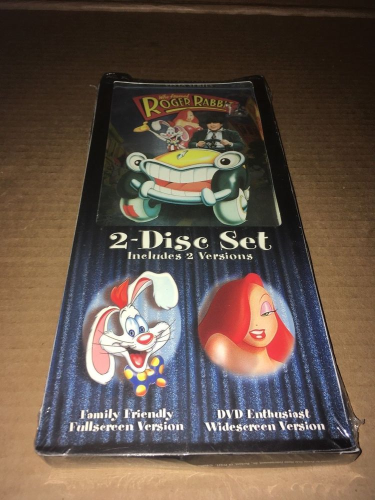 Walt Disney S Who Framed Roger Rabbit 2 Disc Dvd Set Family Enthusiast Dvd Set Roger Rabbit Dvd