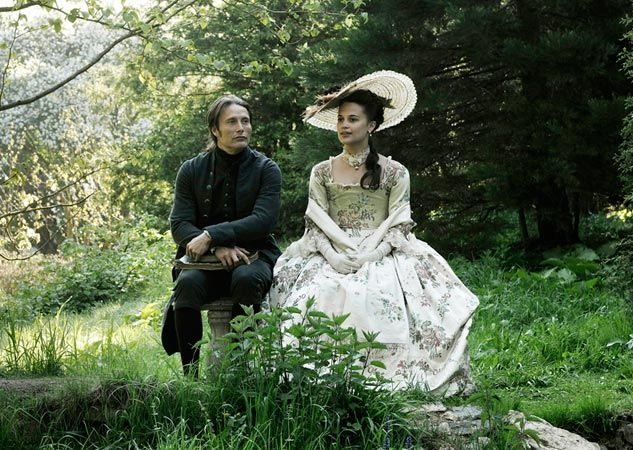 "A great Danish movie ""En kongelig affære"". I love it!>>>LOVE the dress <3"