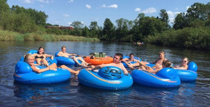 12 Lazy Rivers In Wisconsin That Are Perfect For Tubing On A