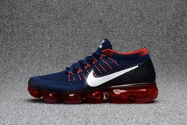 air max vapor,homme air vapormax flyknit bleu et rouge   Nike air ...