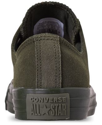 Converse Unisex Chuck Taylor All Star Suede Mono Color Low Top Casual  Sneakers from Finish Line 629b05efb
