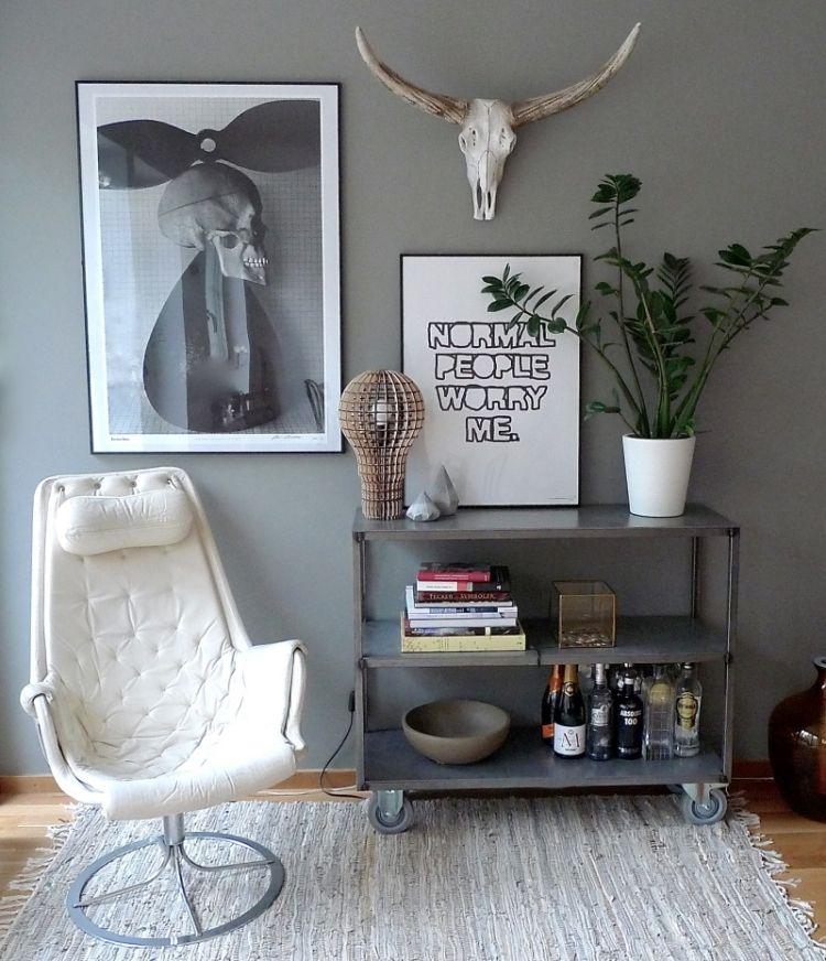 Deko fürs Wohnzimmer im skandinavischen Stil \u2013 Tipps und Bilder - Deko Fürs Wohnzimmer